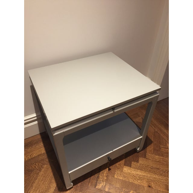 The recessed apron and subtle Asian-inspired feet give our Sophie Side Table a worldly sophistication. A shelf tucked...