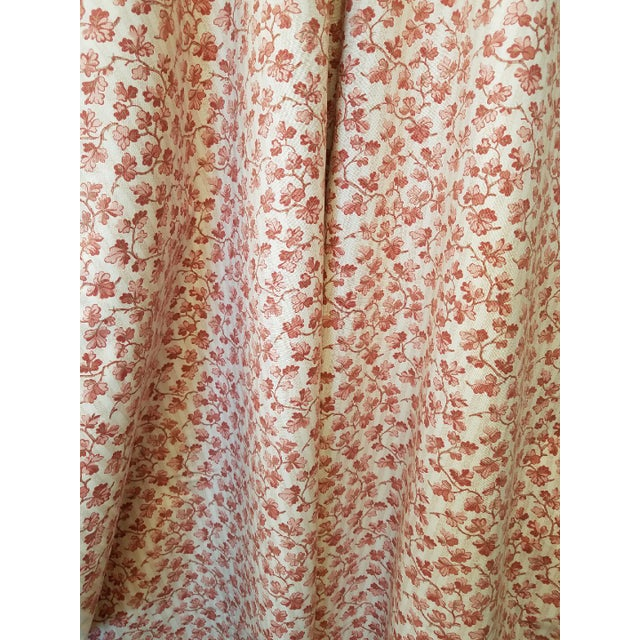 1990s French Ramn and Sons Cotton Leaf Print Fabric For Sale - Image 4 of 4