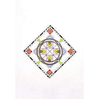 Natasha Mistry Geometric Ink Drawing For Sale
