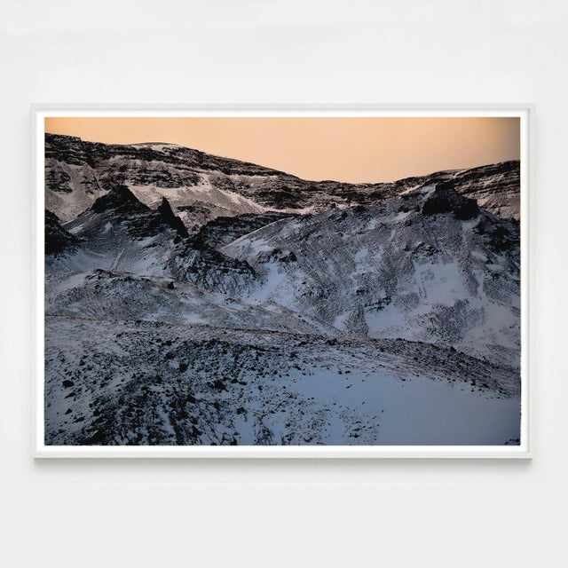 Jeaneen Lund Purple Mountains Glacier Photo Unframed For Sale - Image 4 of 4
