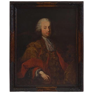 Portrait of Emperor Francis I, Martin Van Meytens the Younger, Circa 1750 For Sale