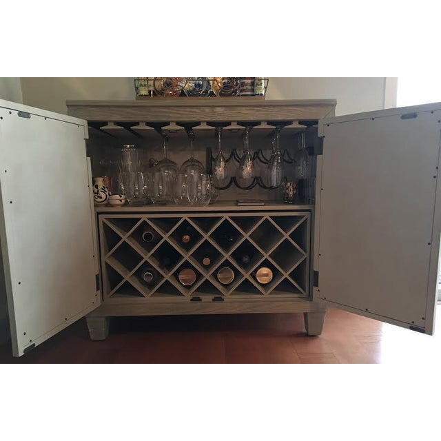 Mirrored Bar Cabinet For Sale - Image 4 of 8
