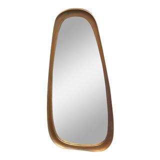 Vintage Gold Oblong Labarge Mirror For Sale