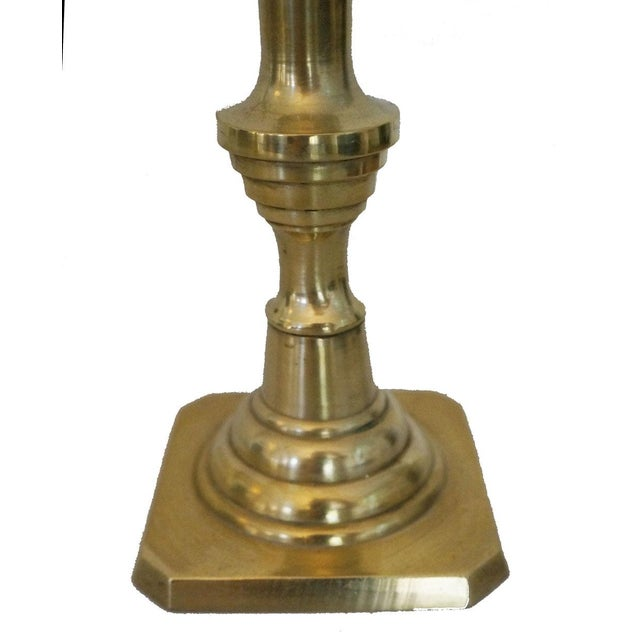 Vintage Brass Candlesticks - A Pair - Image 3 of 3