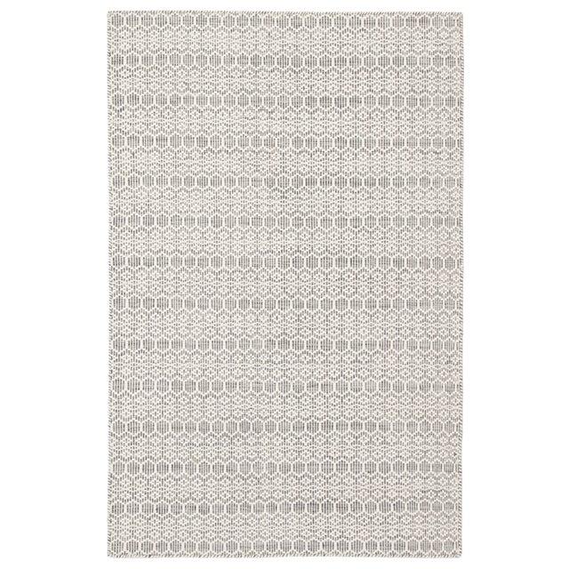 Jaipur Living Calliope Handmade Trellis White/ Gray Area Rug - 5′ × 8′ For Sale In Atlanta - Image 6 of 6