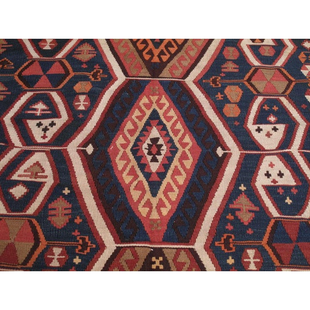 Antique Kagizman Kilim For Sale - Image 4 of 6