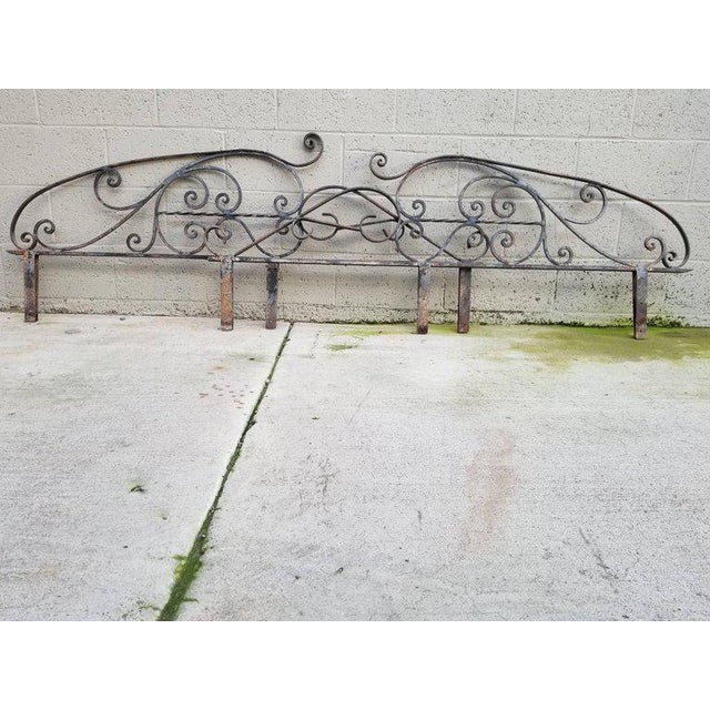 Architectural Iron Panels - a Pair For Sale In San Francisco - Image 6 of 10