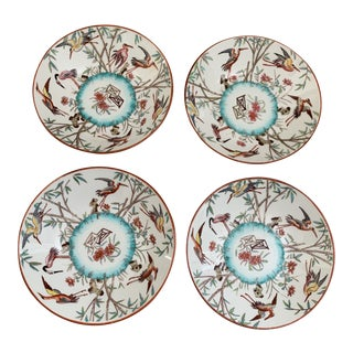 Antique English Minton Appetizer Bowls Trinket Dishes - Set of 4 For Sale