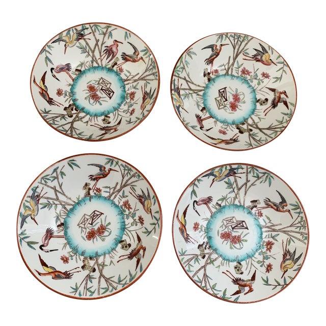 Antique English Minton Appetizer Bowls Trinket Dishes - Set of 4 For Sale