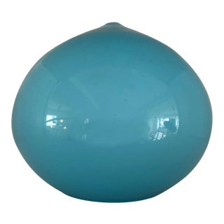 Blue Glass Pendant by Vistosi For Sale
