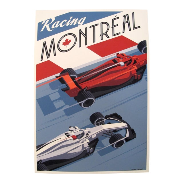 2019 Montreal Grand Prix Poster, Steve Thomas For Sale