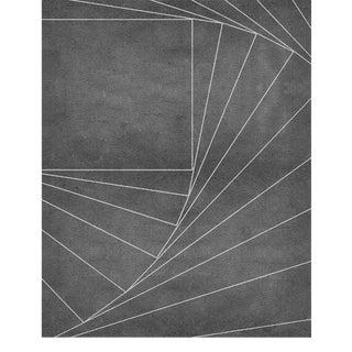 Covet Paris Inception Neutral Rug - 6′7″ × 9′10″ For Sale