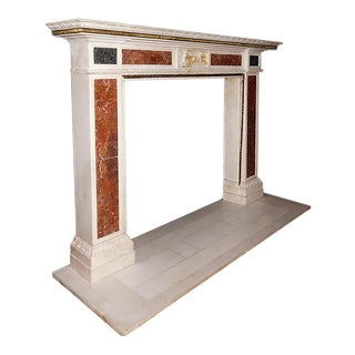 Early 19th Century Regency/Empire Style Marble Mantel For Sale