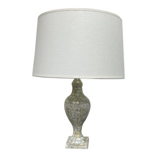 Jamie Young Shell Urn Table Lamp For Sale
