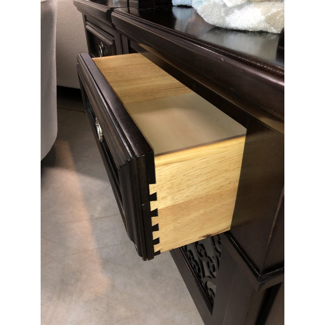 Glass Pacific Canyon Bookcase For Sale - Image 7 of 11