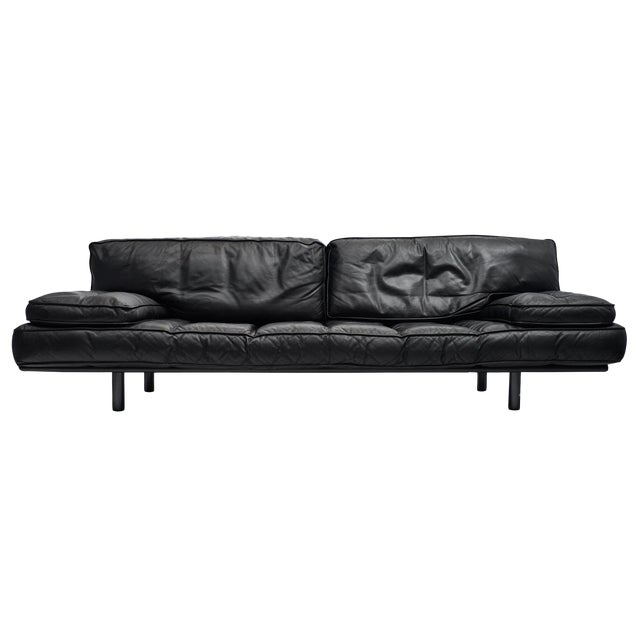 Milano 210 Italian Leather Sofa by Zanotta