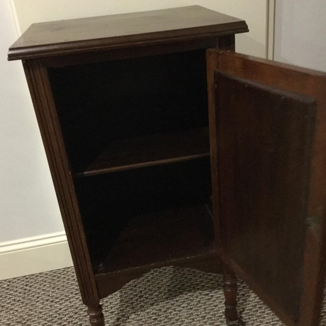 Antique Walnut Half Commode - Image 3 of 8