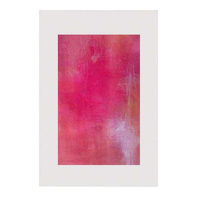 Pink Lemonade Original Modern Abstract Painting - Image 1 of 5