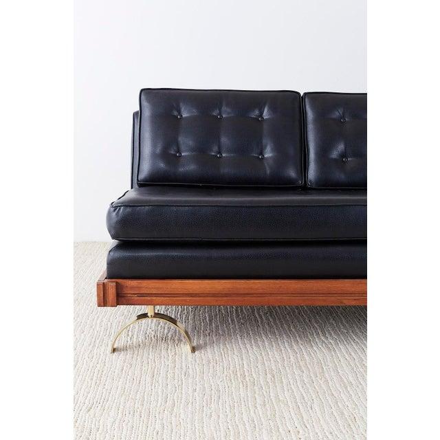 Fantastic Martin Borenstein Challenge Series Walnut Gondola Sofa Pdpeps Interior Chair Design Pdpepsorg