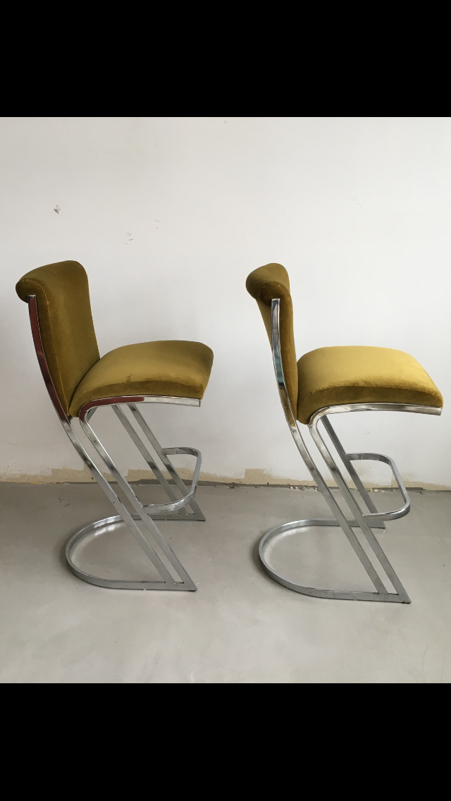 1970 S Pierre Cardin Bar Stools A Pair Chairish