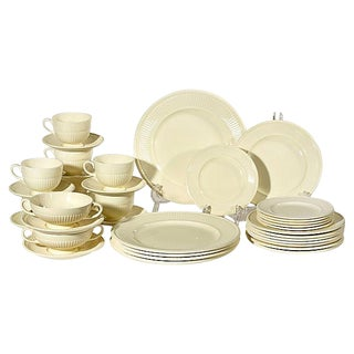 Wedgwood Dinnerware Set, 37-Pcs For Sale
