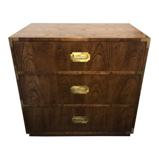 20th Century Campaign Dixie Chest For Sale