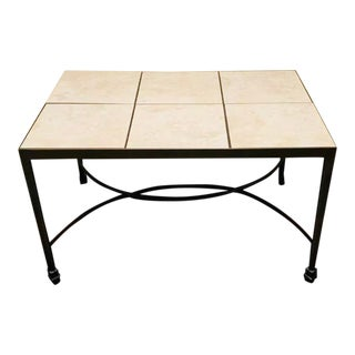 Woodard Landgrave Patio Porch Side End Table For Sale