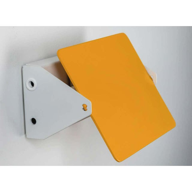 Charlotte Perriand Charlotte Perriand Yellow Cp1 Wall Lights - a Pair For Sale - Image 4 of 7