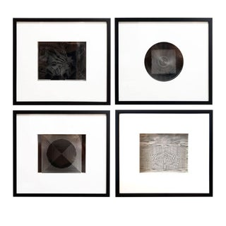 Four Framed Vasarely Prints: Cinétiques For Sale