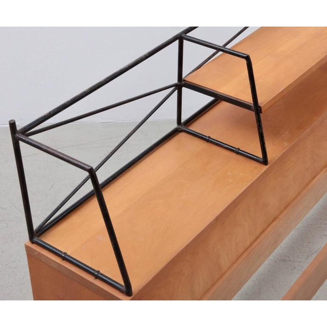 """Winchendon Furniture """"Planner Group"""" Paul McCobb Wrought Iron """"Planner Group"""" Headboard for Winchendon For Sale - Image 4 of 6"""