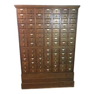 Vintage Card Catalogue For Sale