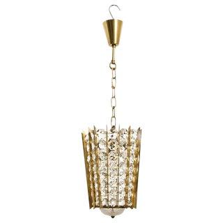 Bakalowits Crystal Pendant Lantern For Sale