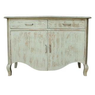 Shabby Chic Cherie Two Drawer Cabinet For Sale