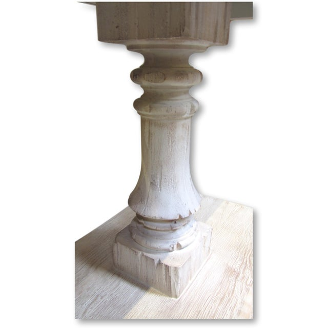 Cottage Modern History Console Table For Sale - Image 3 of 9