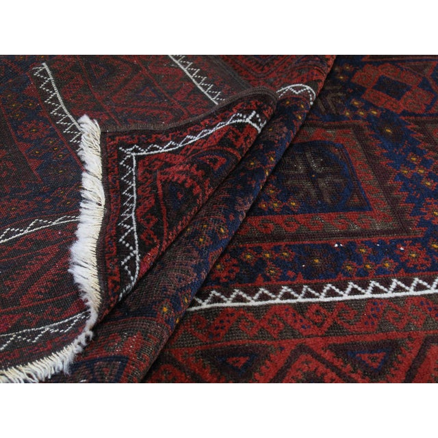 Textile Antique Baluch Long Rug For Sale - Image 7 of 9