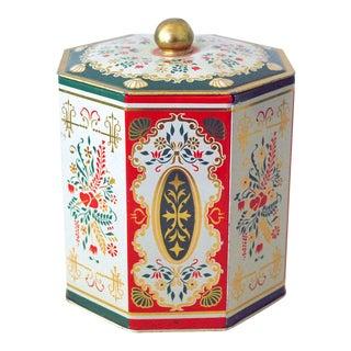 Vintage West German Tin Box For Sale