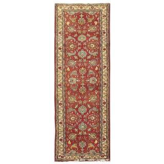 Vintage Persian Tabriz Rug - 3'1'' x 10'10'' For Sale
