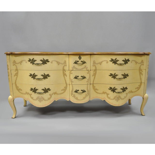 Early 20th Century Antique John Widdicomb French Provincial Style Credenza For Sale - Image 13 of 13