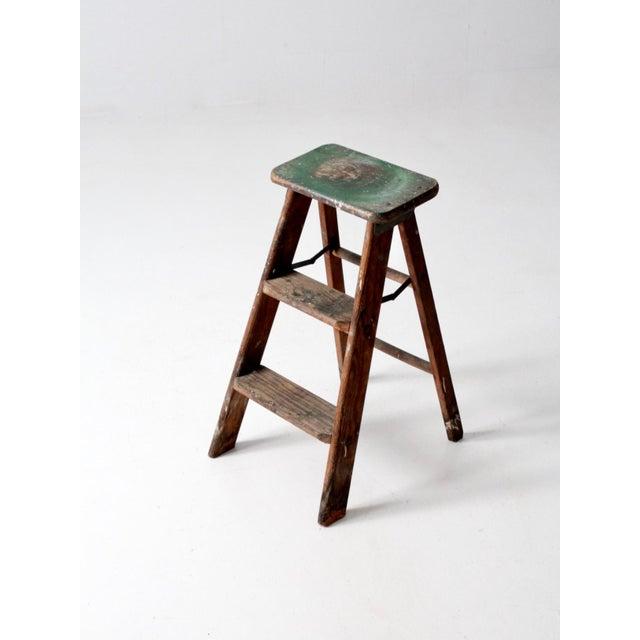 Surprising Vintage Step Ladder Machost Co Dining Chair Design Ideas Machostcouk