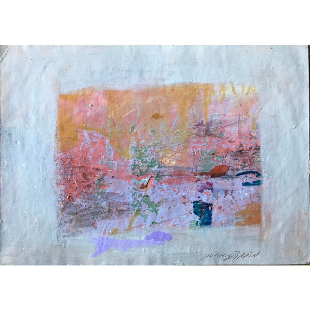 Pink, Purple and Gold 1980s Abstract Bay Area Artist For Sale In New York - Image 6 of 6