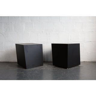 Mid-Century Modern Black Steel TGM Volume Cube Preview