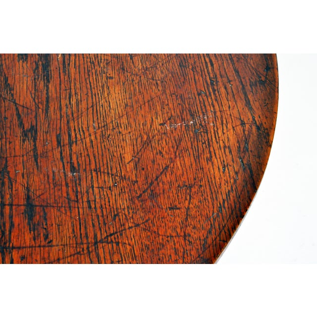 Hungarian Table with Metal Legs For Sale - Image 9 of 11