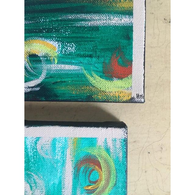 """Imbue"" No. 1, 2 & 3 Modern Series Paintings - Image 5 of 7"