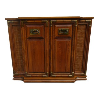 20th Century Campaign Entryway Cabinet For Sale