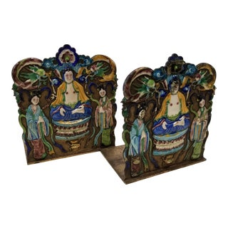 Chinese Export Bookends For Sale