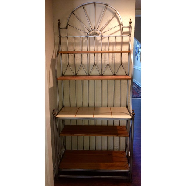 Drexel Solstice Iron Frame Bakers Rack For Sale In Houston - Image 6 of 6