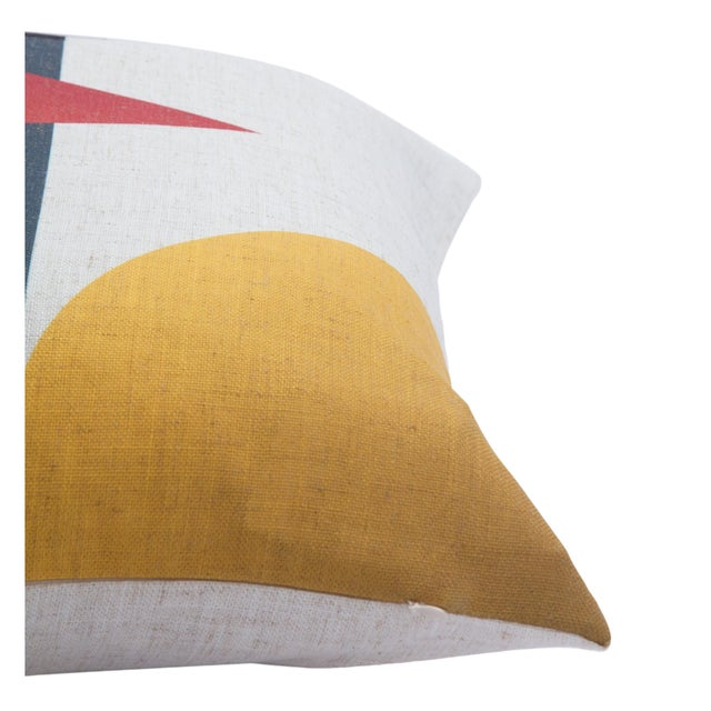 Compose a chic pillowscape on couches and beds with the modern style of this decorative pillow. Printed in graphic detail...