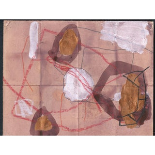 Abstract Work on Paper by M. P. Landis - From Warehouse Drawing Series Preview