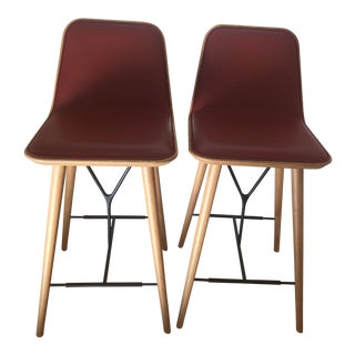 Fredericia Stolefabrik Danish Modern Fredericia Counter Stools - A Pair For Sale