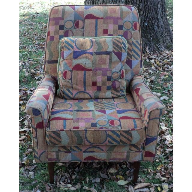 Mid-Century Modern Lounge Club Chair - Image 3 of 9